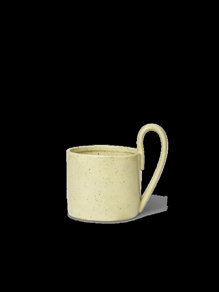 ferm LIVING ferm LIVING Flow Mug - Yellow Speckle