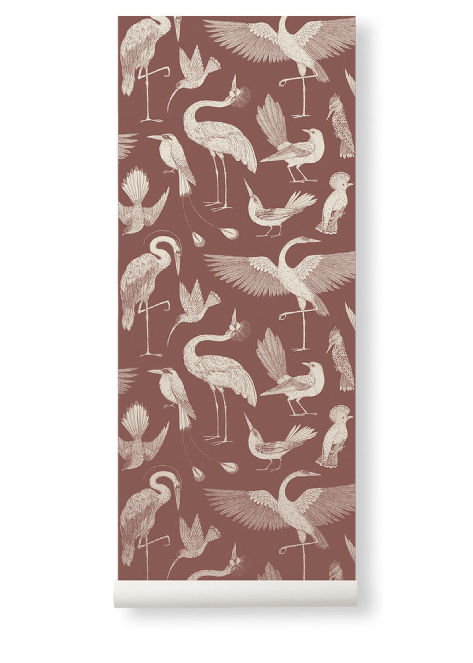 ferm LIVING ferm LIVING Katie Scott Birds Wallpaper