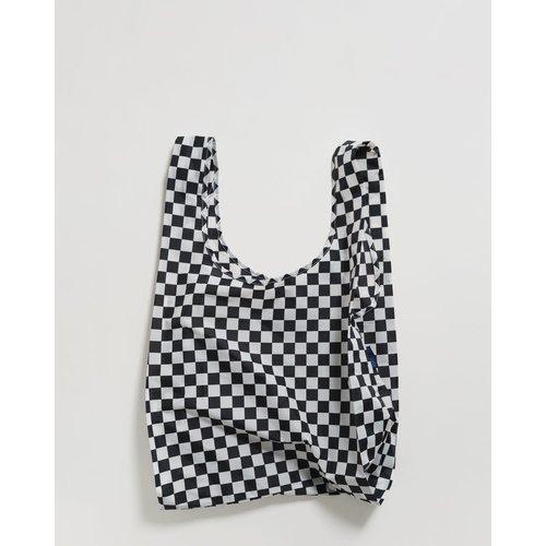 Baggu Standard Reusable Bag - Black Checkerboard