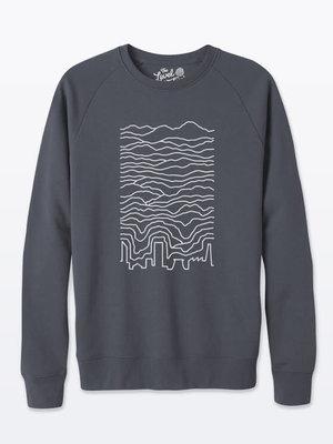 The Level Collective The Level Collective Known Pleasures Sweater Anthracite