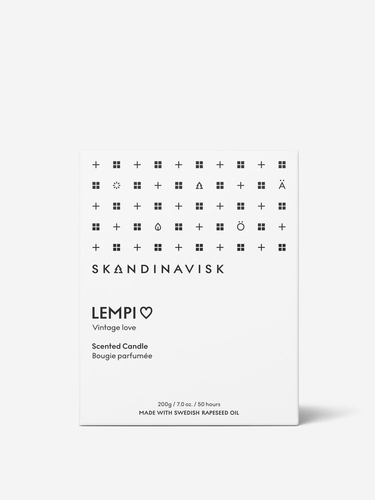 SKANDINAVISK Skandinavisk LEMPI (Next Gen) Candle - 200 gr