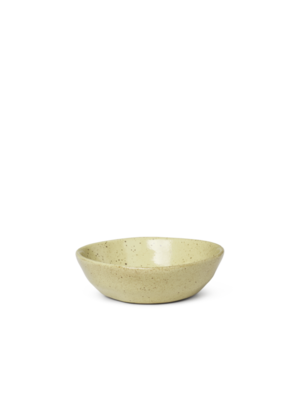 ferm LIVING Flow Bowl - Small - Yellow speckle