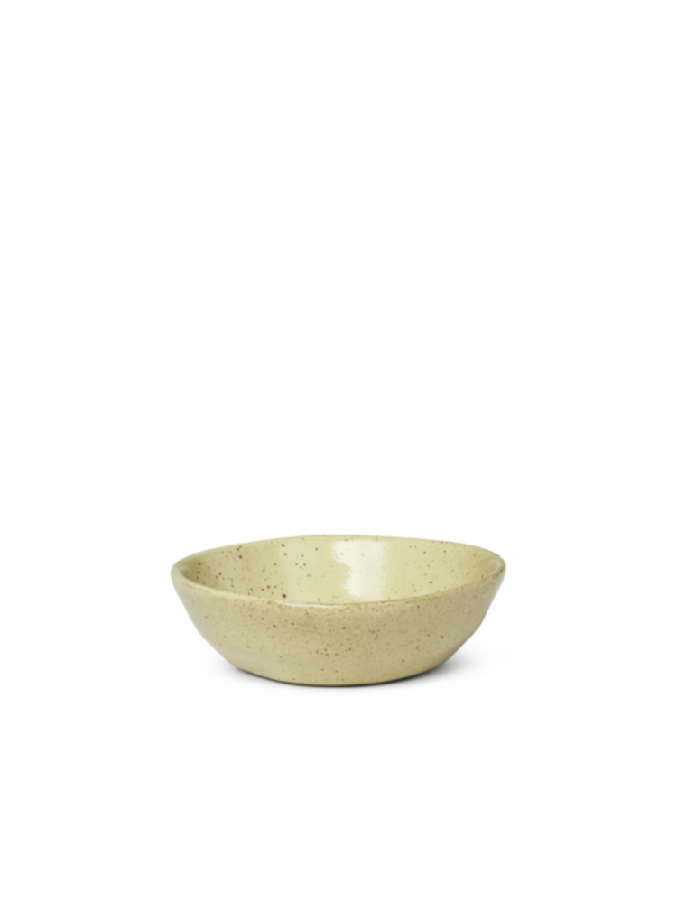 ferm LIVING ferm LIVING Flow Bowl - Small - Yellow speckle