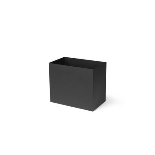 ferm LIVING Plant Box Pot - Large - Black