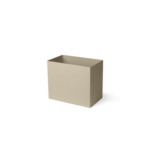 ferm LIVING Plant Box Pot - Large - Cashmere