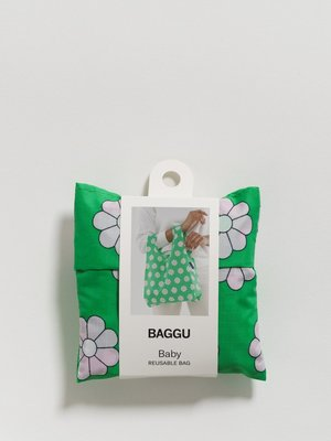 Baggu Baggu Baby Baggu Reusable Bag - Green Daisy