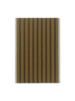 ferm LIVING ferm LIVING Hale Yarn Dyed Linen Tea Towels - Sugar Kelp/Black