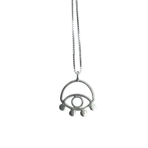 Lima Lima Ecosilver Eye Necklace