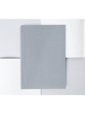 Ola Ola Medium Layflat Notebook: Everyday Objects Edition 2: Hexagon Grey/Dotted Pages
