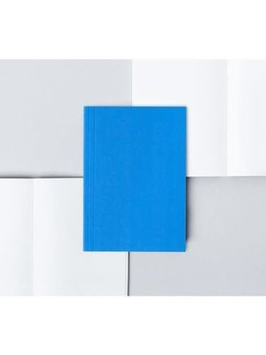 Ola Pocket Layflat Notebook: Everyday Objects Edition 2: Circle Blue/Plain Pages
