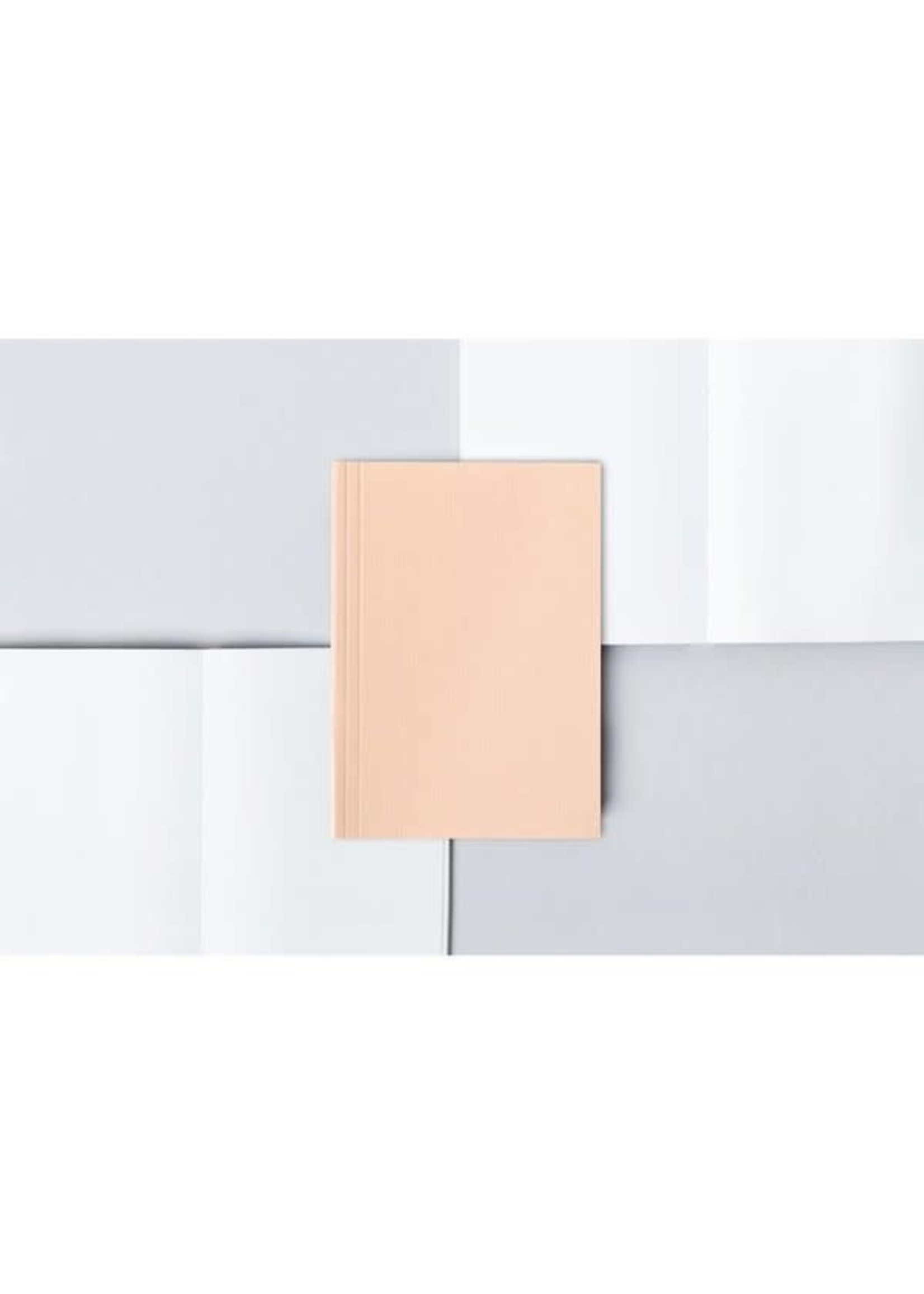 Ola Ola Pocket Layflat Notebook: Everyday Objects Edition 2: Circle Pink/Plain Pages