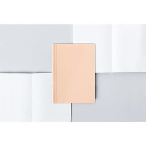 Ola Pocket Layflat Notebook: Everyday Objects Edition 2: Circle Pink/Plain Pages