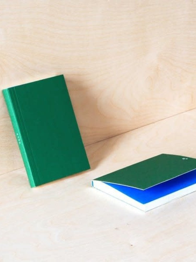 Ola Ola Pocket Layflat Weekly Planner in Green/Blue