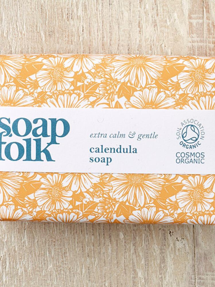 Soap Folk Soap Folk Calendula Olive Oil Organic Soap