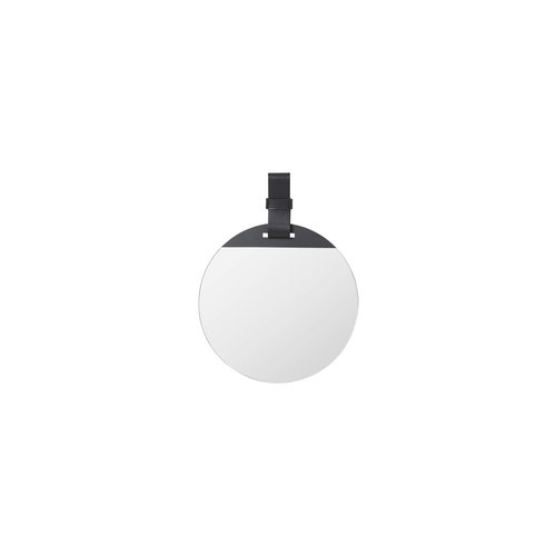 ferm LIVING ENTER Mirror - Black - Small