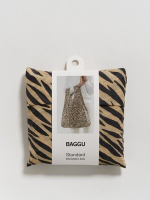 Baggu Standard Reusable Bag - Tiger Stripe