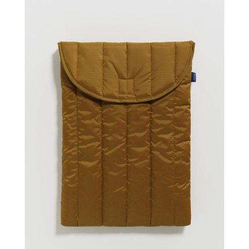 "Baggu Baggu Puffy Laptop Sleeve 16"" - Bronze"
