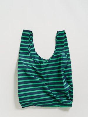 Baggu Baggu Standard Reusable Bag - Aloe Sailor Stripe