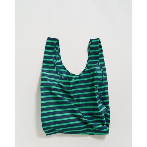 Baggu Standard Reusable Bag - Aloe Sailor Stripe
