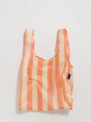 Baggu Baggu Standard Reusable Bag - Washed Brick Stripe