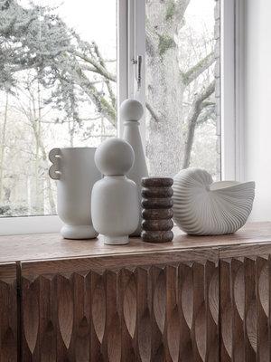 ferm LIVING Ferm Living Bendum Marble Vase