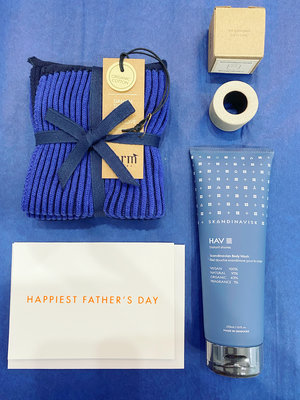 Father's Day gift box - Bathroom set