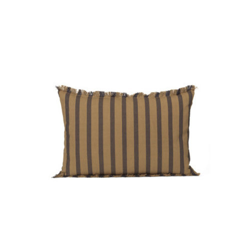 ferm LIVING True Cushion - Sugar Kelp/Black