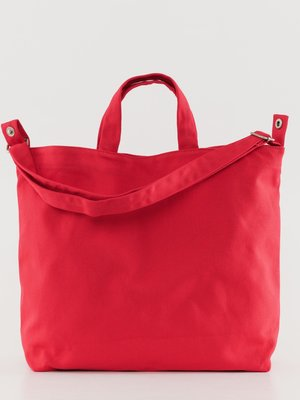 Baggu Horizontal Duck Canvas Bag - Red