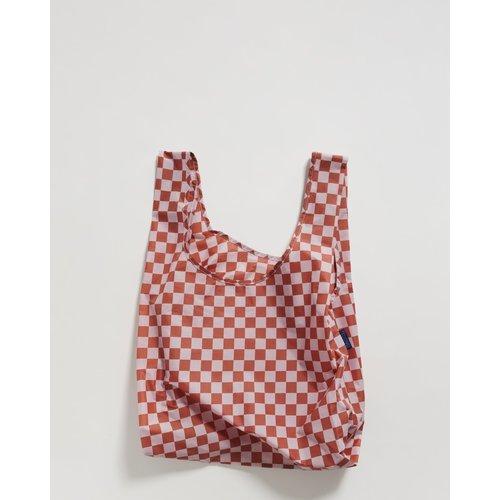 Baggu Standard Reusable Bag - Rose Checkerboard