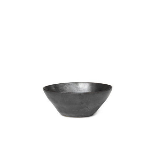 ferm LIVING Flow Bowl - Medium - Black