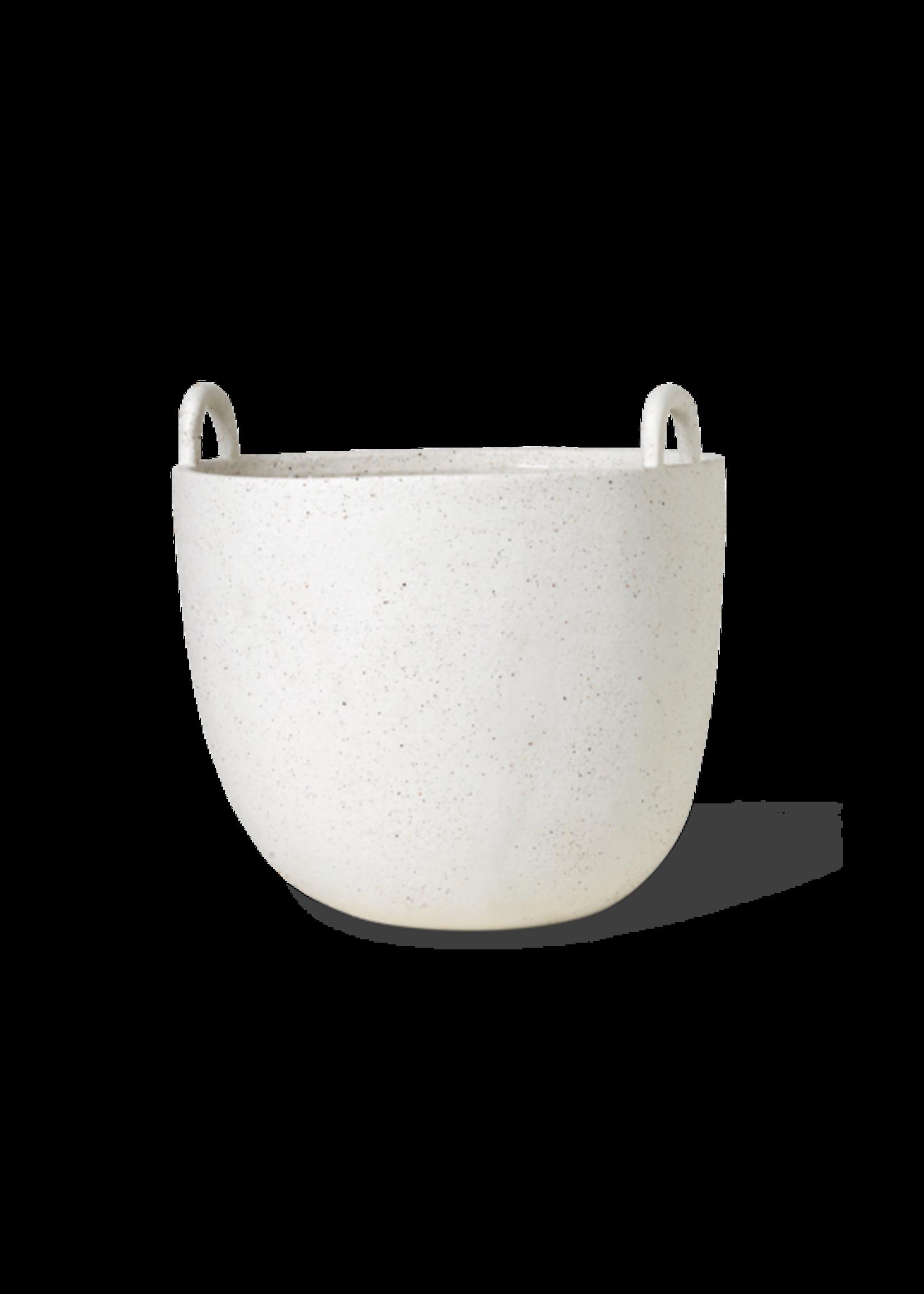ferm LIVING ferm LIVING Speckle Pot - Large - Off-White