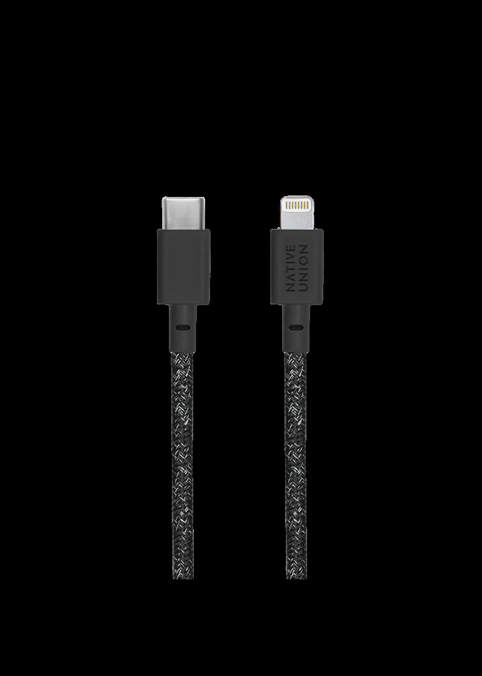 Native Union Native Union Belt Cable 1.2m - Lightning - USB-C - Cosmos