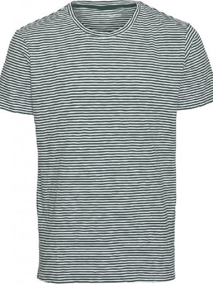 KnowledgeCotton Alder Narrow Striped T-shirt