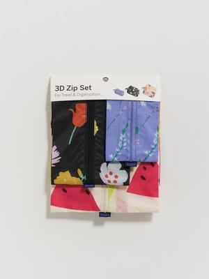 Baggu Baggu 3D Zip Set - Summer Plants