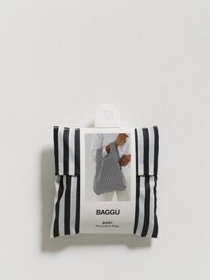 Baggu Baggu Baby Baggu Reusable Bag - Black and White Stripe