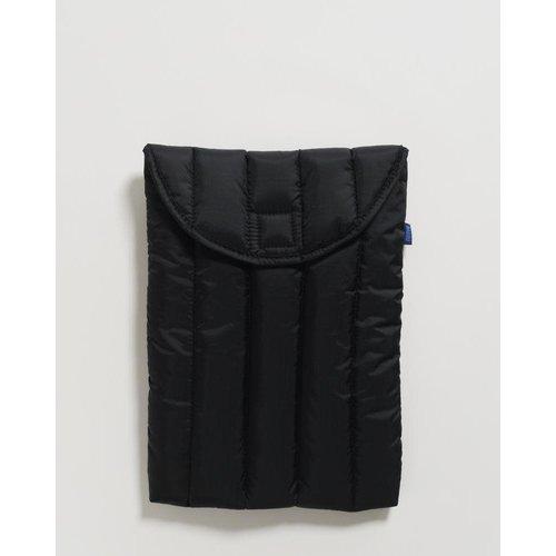 """Baggu Puffy Laptop Sleeve 16"""" - Black"""