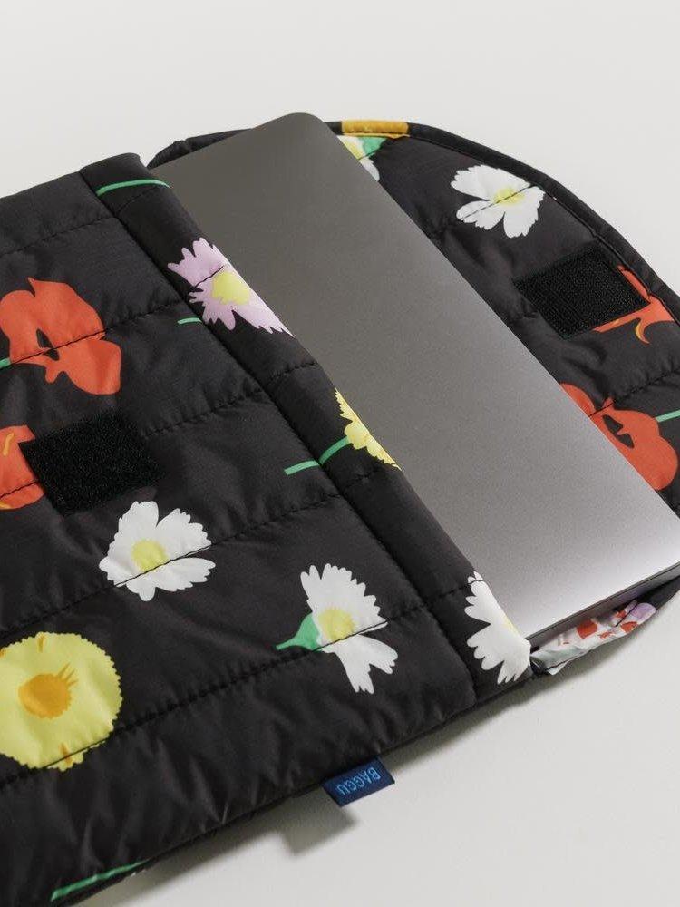 """Baggu Baggu Puffy Laptop Sleeve 16"""" - Desert Wildflower"""