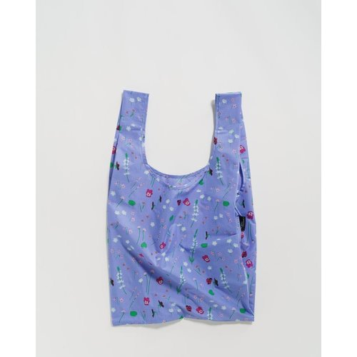 Baggu Standard Reusable Bag - Blue Wildflowers