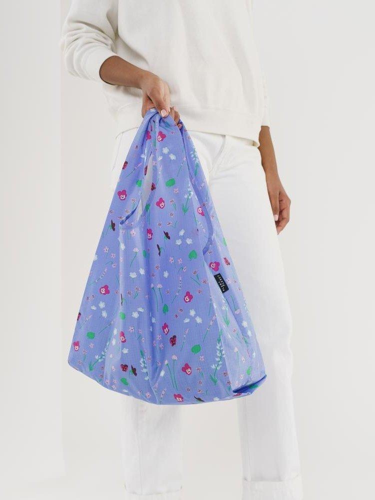 Baggu Baggu Standard Reusable Bag - Blue Wildflowers