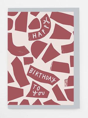 Alison Hardcastle Alison Hardcastle Birthday Collage Card