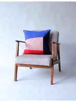 Sophie Home Bruka Red Knitted Cushion