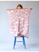 Sophie Home Rainbow Pink Blanket