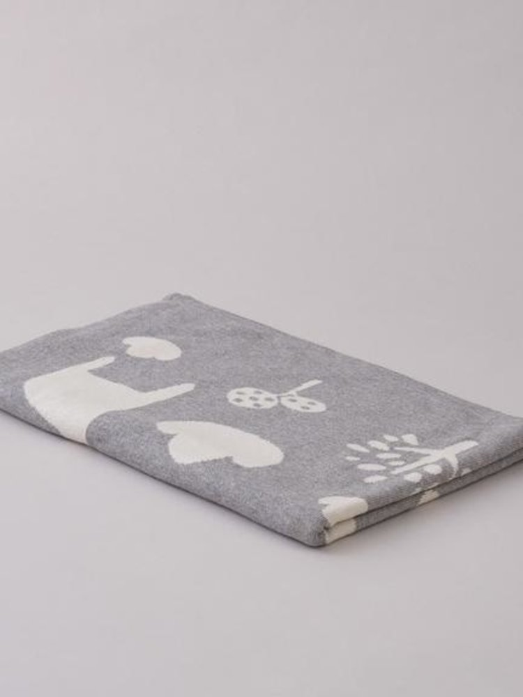 Sophie Home Sophie Home Giraffe Grey Blanket