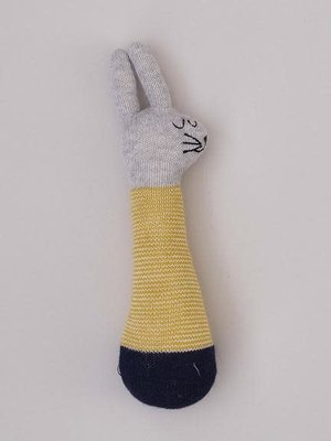 Sophie Home Sophie Home Rabbit Rattle Yellow