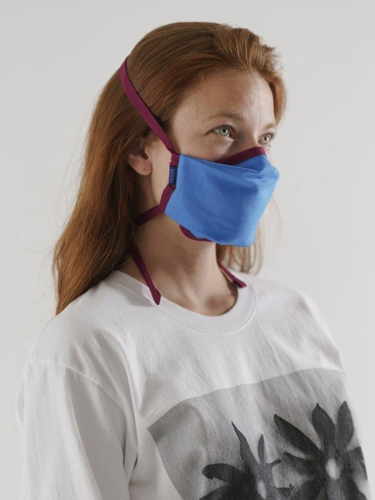 Baggu Baggu fabric mask set of 3 - Fig