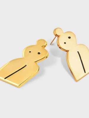 Milk Tooth Milk Tooth Woman Studs - Gold