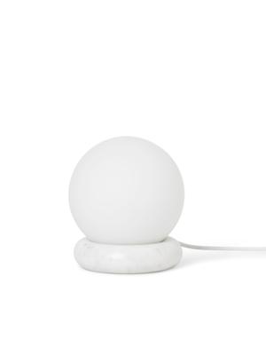 ferm LIVING Rest Lamp - White marble