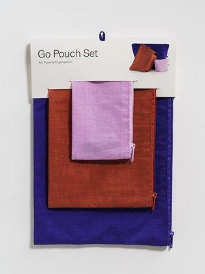 Baggu Baggu Go Pouch Set - Paint