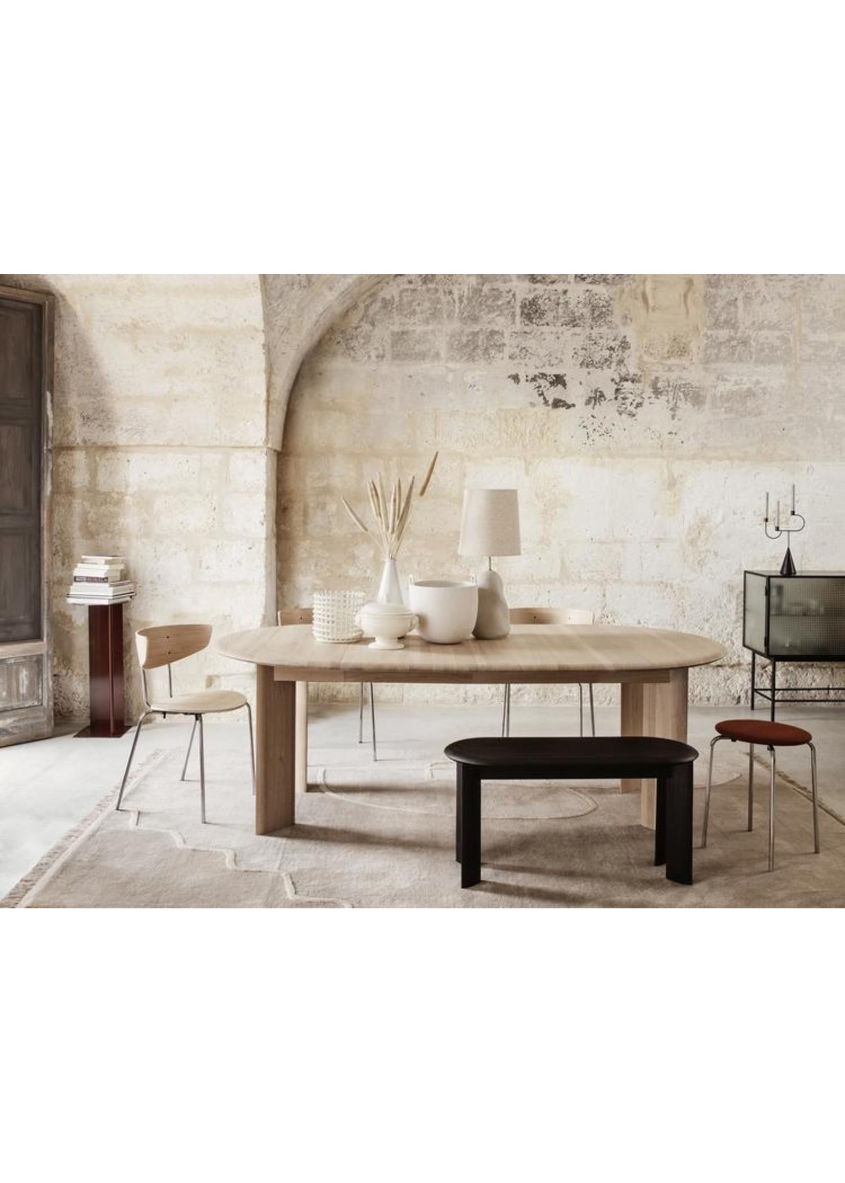 ferm LIVING ferm LIVING Bevel Table - Extendable x 2 - White Oiled Oak