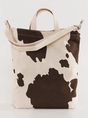 Baggu Duck Canvas Bag - Brown Cow